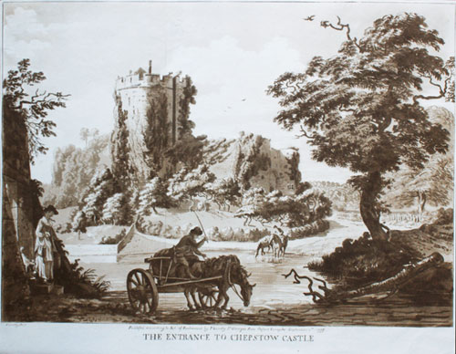 Paul Sandby: Chespstow Castle