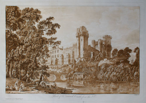 Paul Sandby: Warwick Castle