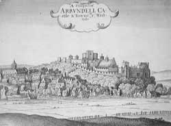 Arundel by Wenceslas Hollar